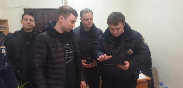 Авто и файера под Харьковской ОГА: инициатора протеста оштрафовали
