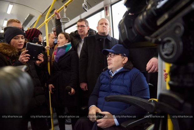 В Харькове начал работу троллейбусный маршрут №47