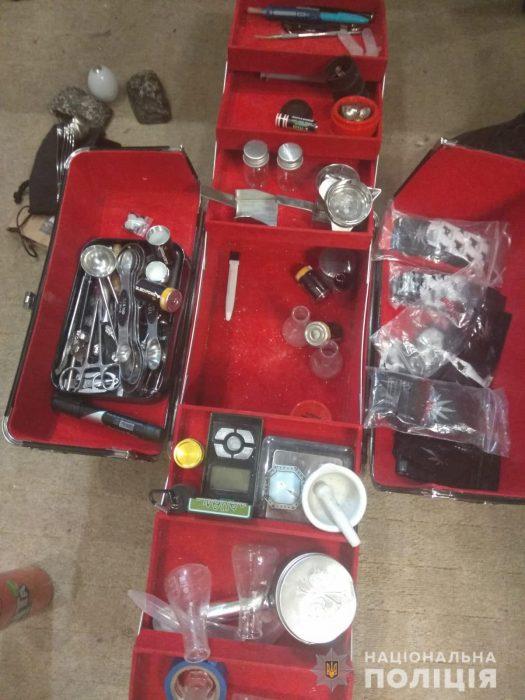 У харьковчанина обнаружили 60 доз кокаина и психотропные вещества