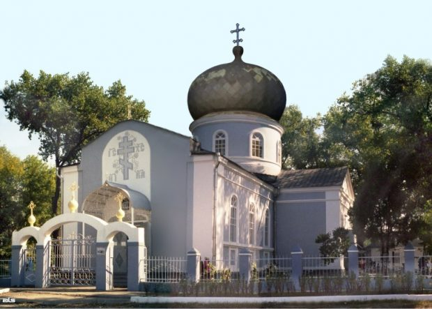 Церковь Димитрия Солунского, Васищево