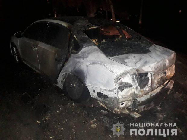 В Харькове сожгли автомобиль главе общественной организации