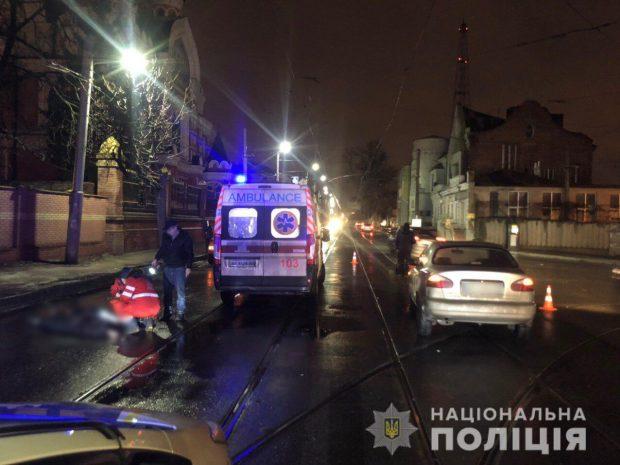 В Харькове насмерть сбили женщину