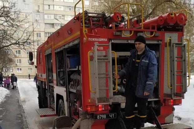 В Харькове на пожаре погибла пожилая женщина: 13 человек спасли