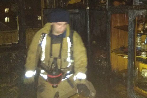 В Харькове во время пожара в девятиэтажном жилом доме эвакуировали 32 жителя