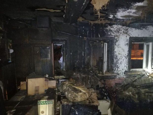 В Харькове сгорел частный дом: погиб хозяин