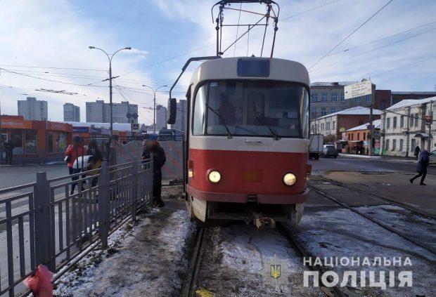 В Харькове трамвай наехал на пожилую женщину