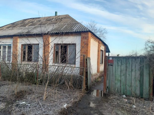 Под Харьковом на пожаре погибли отец и сын