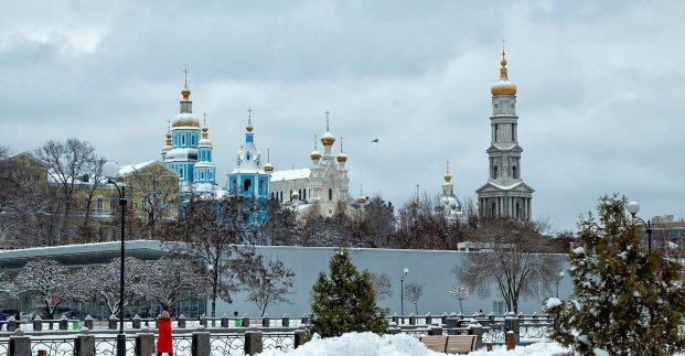 В выходные в Харькове - без осадков и до 4 градусов тепла