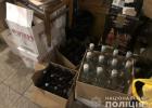 В Харькове изъяли восемь тысяч бутылок фальсифицированного алкоголя
