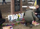 В Харькове почтили память погибших в результате теракта у Дворца спорта