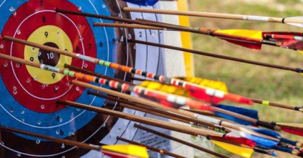 Харьковчане успешно выступили на чемпионате Украины по стрельбе из лука
