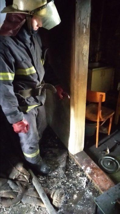 На пожаре под Харьковом погиб 92-летний мужчина