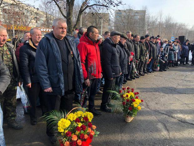 В Харькове почтили память воинов-афганцев