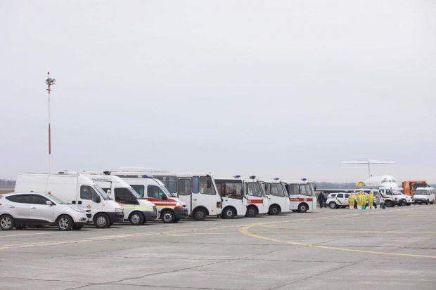 Самолет, которые приземлится в Харькове авиакомпании SkyUp, проходил в Борисполе дизенфицирующую обработку