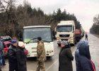 Под Харьковом люди перекрыли трассу