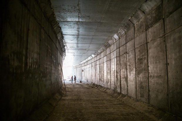 Кернес рассказал, как продвигается строительство метро на Одесской
