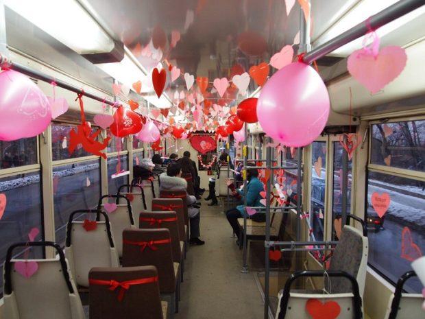 Романтический трамвай