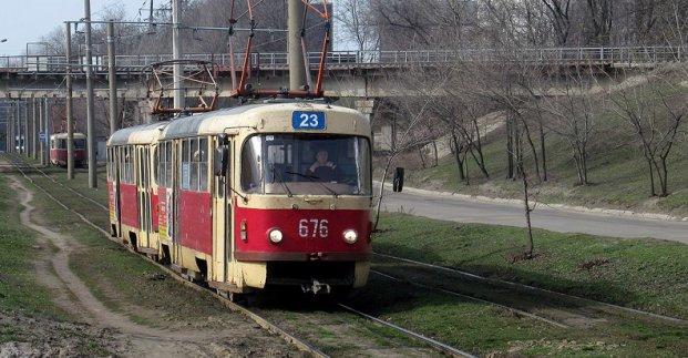 В Харькове временно отменяется трамвайный маршрут №23