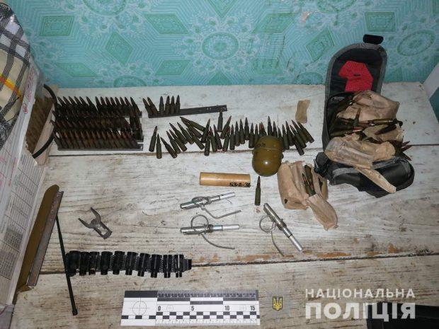 В Харьковской области мужчина за две тысячи гривен продал две боевые гранаты