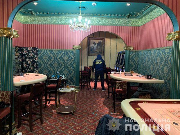 В Харькове прикрыли работу трех игорных заведений