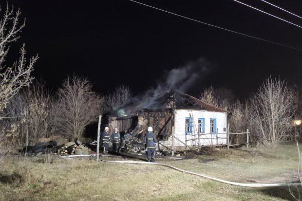 На Харьковщине в результате пожара погиб мужчина