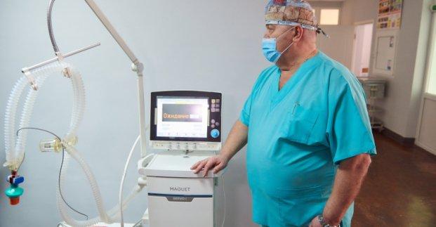 В 17-й больнице работает новый аппарат ИВЛ