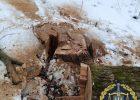 Двум мужчинам, которые рубали лес в Харьковской области, сообщили о подозрении