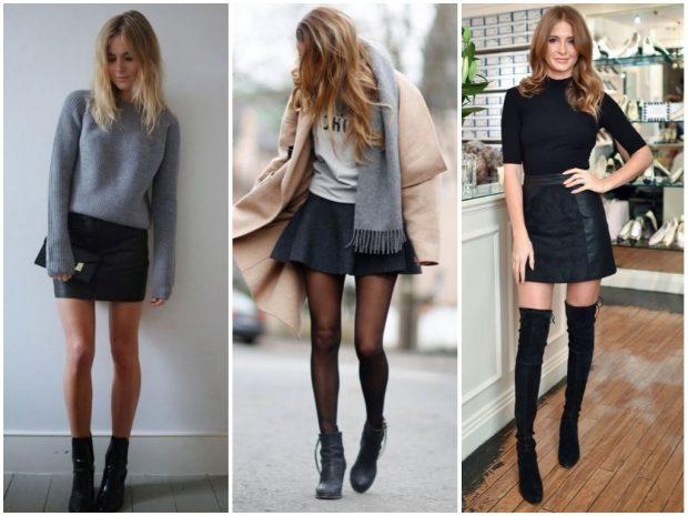 Модные мини-юбки