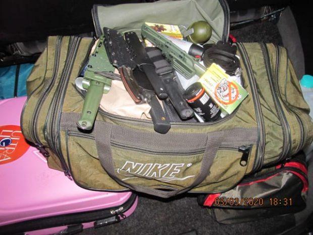 В Харьков из РФ ехал автомобиль с гранатами