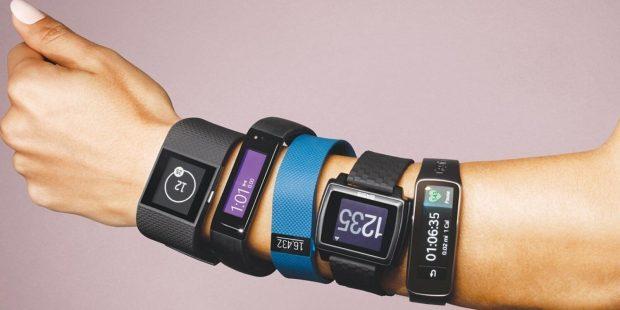 Фитнес-браслет на руку