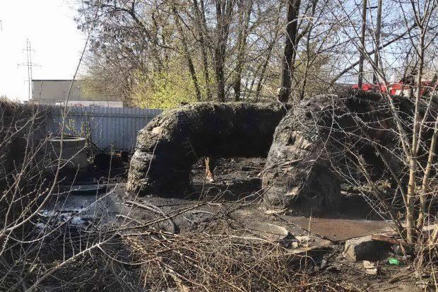 В Харьковской области из-за выжигания сухой травы произошло 38 пожаров