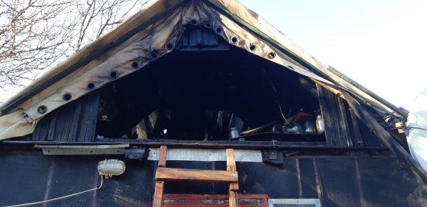 В Харькове из-за неосторожности при курении едва не сгорел дом