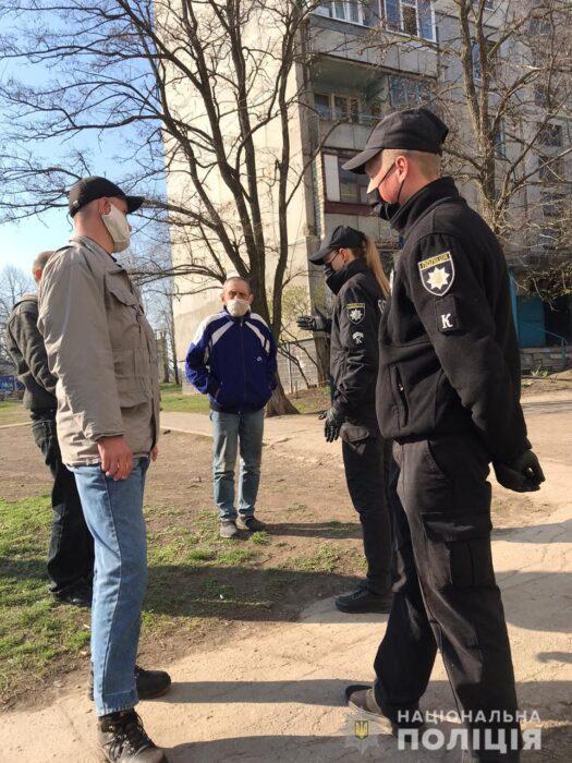 На Харьковщине полицейские составили 705 протоколов за нарушение правил соблюдения карантина