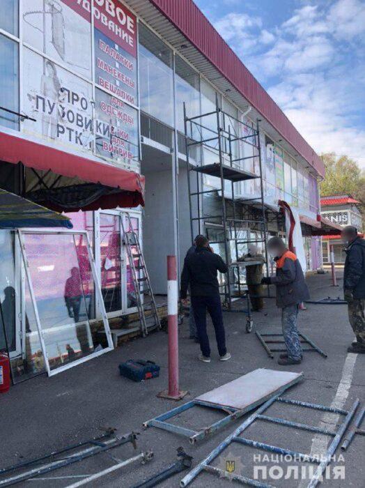 Полиция открыла два уголовных производства по факту конфликта на харьковском рынке Барабашово