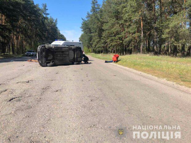 В результате аварии под Харьковом погиб водитель