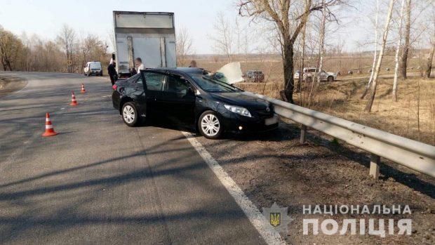 В результате автокатастрофы под Харьковом погиб пожилой мужчина