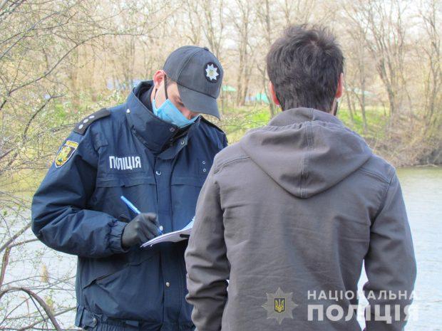 В Харькове полиция усиливает меры безопасности по соблюдению карантинных правил