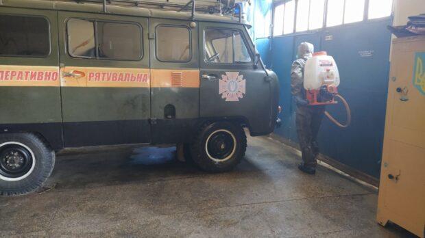 На Харьковщине самоизолировался караул пожарно-спасательной части из-за угрозы коронавируса