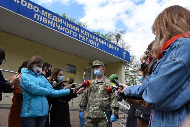 Вспышки коронавируса среди военных медиков на Харьковщине нет - Минобороны