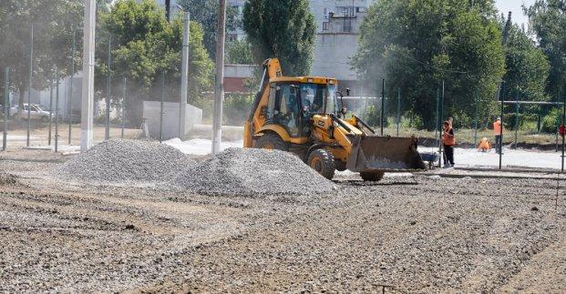 В Харькове построят новые детские спортивные площадки