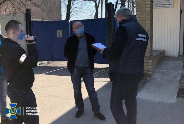 В Харьковский области начальник райотдела хотел получить взятку от бизнесмена за непривлечение к ответственности за нарушения карантина