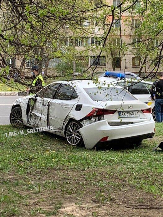 В ДТП на Алексеевке пострадали пять человек, среди них дети