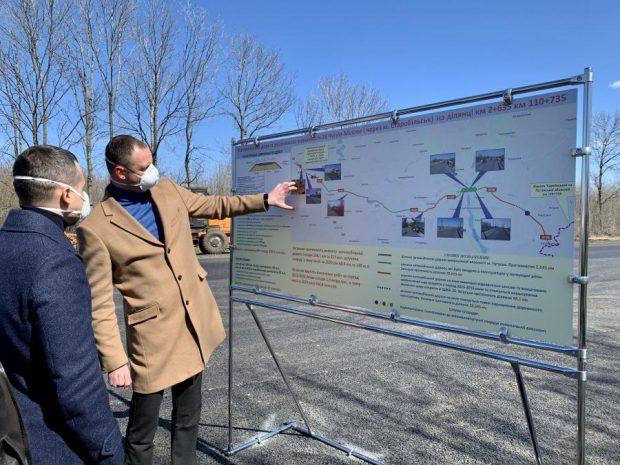 В этом году завершат восстановление почти 70 км дороги Чугуев - Меловое