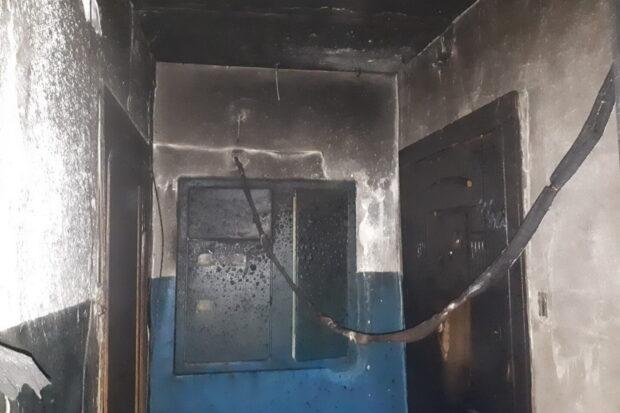 В Харькове горела девятиэтажка: спасатели эвакуировали 23 человека