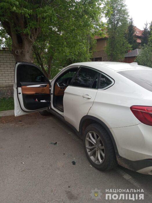 В Харькове по факту наезда на патрульного открыли уголовное производство