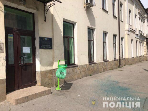 Полицейские задержали тех, кто облил зеленкой Андрея Лесика