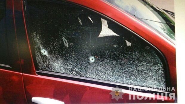 На Салтовке водитель устроил стрельбу из-за нарушений правил дорожного движения