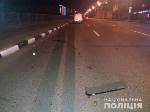 В Харькове в результате аварии погибла женщина