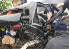 На Окружной в результате ДТП пассажира зажало в автомобиле