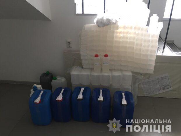В Харькове руководитель предприятия продавал фальсифицированный антисептик